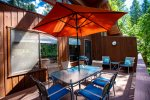 Large pool perfect for warm summer days